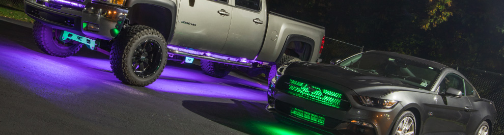 LED Multi Color Underbody Lights