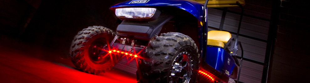 Single Color Golf Cart LED Underbody Lights