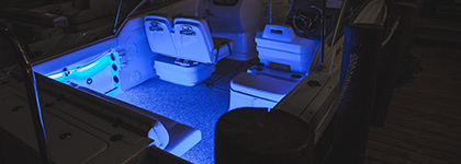 Single Color Marine Boat Lighting Kits