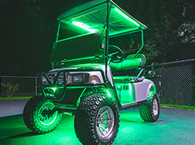 Golf Cart Multi Color LED Lighting