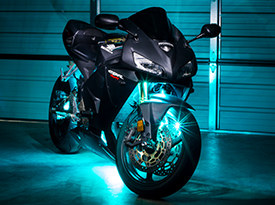 Motorcycle Multi Color LED Lights